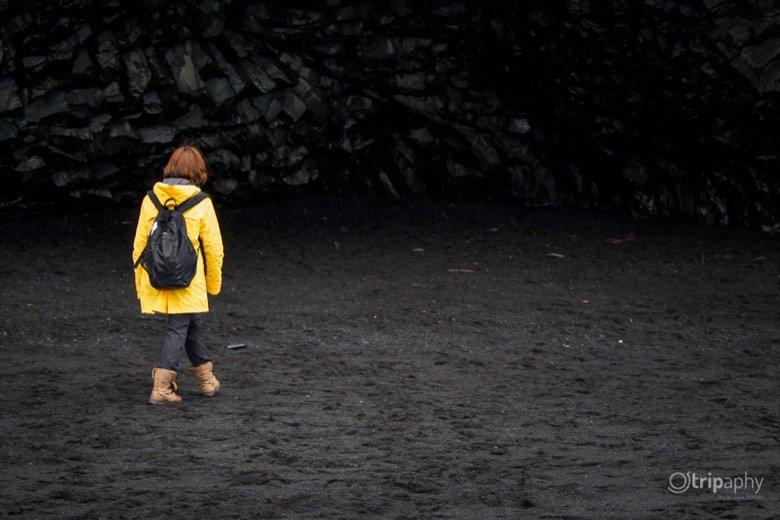 Schwarze Strände Island