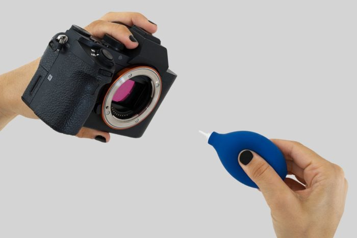 Sensorreinigung Kamera