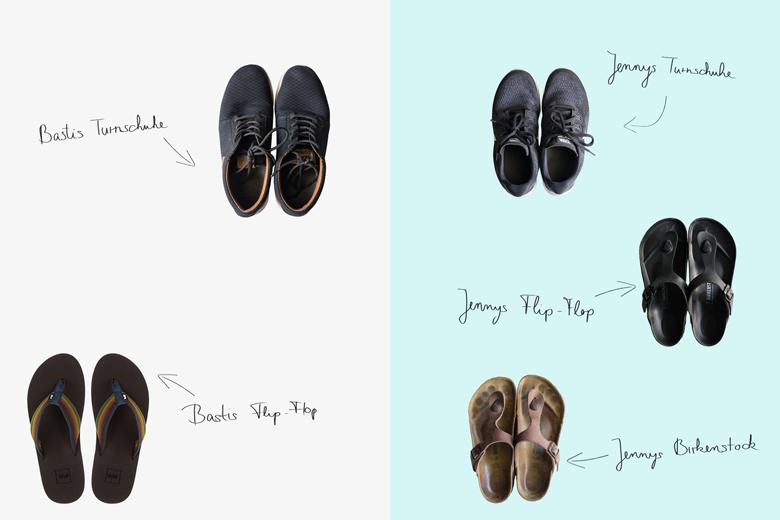 Schuhe für Südostasien