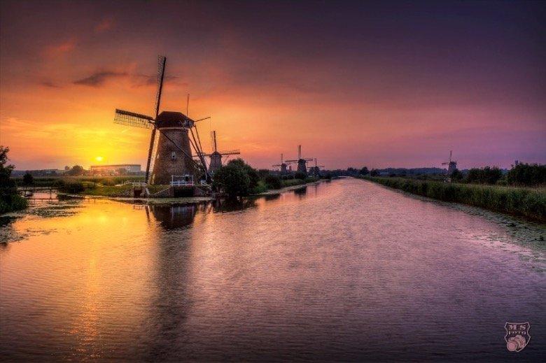 Kinderdijk Windmühle