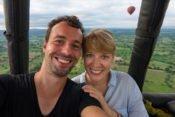 Unsere Ballonfahrt über Bagan