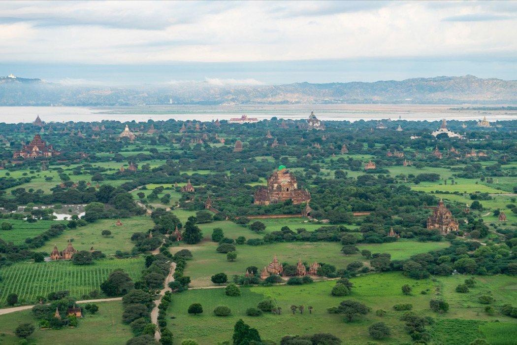 Eine tolle Erfahrung eine Ballonfahrt über Bagan!