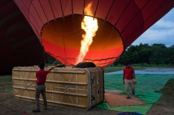 Ballonfahrt Bagan.