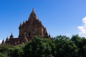 Htilominlo Tempel von außen