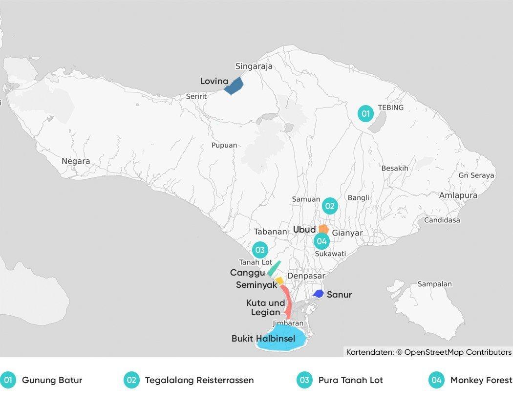 Bali Karte Canggu.Bali Hotel Tipps Wo übernachtest Du Am Besten