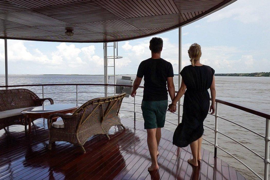 Bootsfahrt Bagan Mandalay