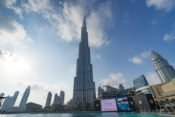 Das Burj Khalifa sieht schon echt gewaltig aus!