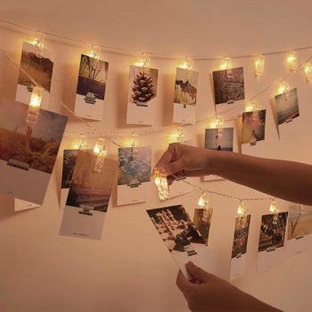 Photo fairy lights