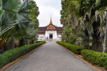 Königspalast in Luang Prabang