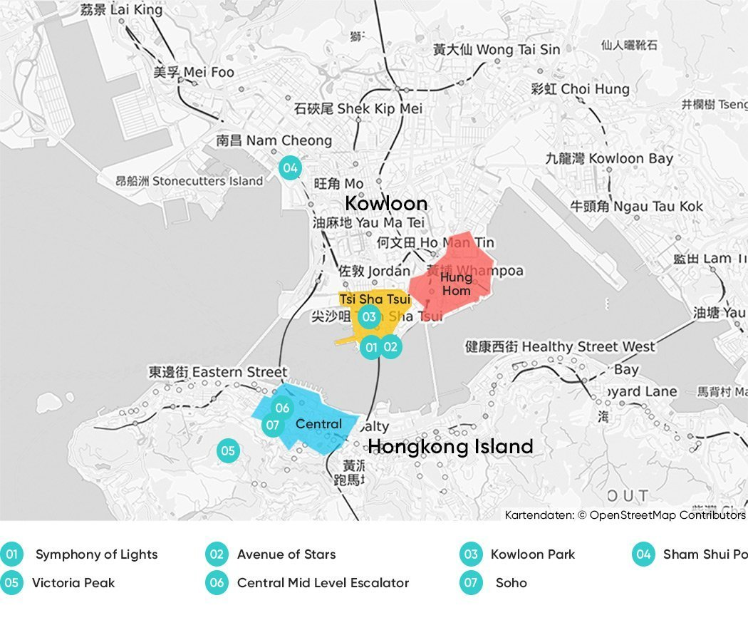 Best places to stay in Kowloon