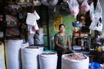 Markt in Pakokku