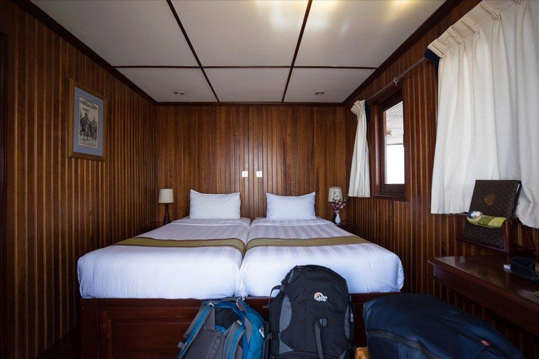 Unser Zimmer an Bord