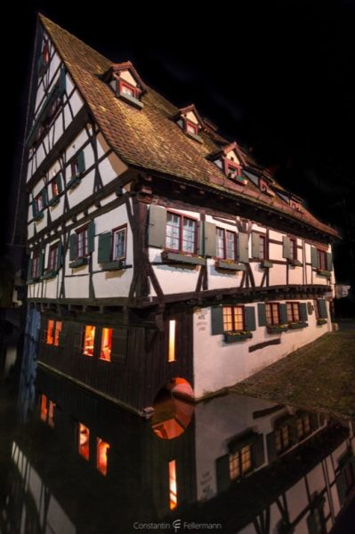 Schiefes Haus in Ulm
