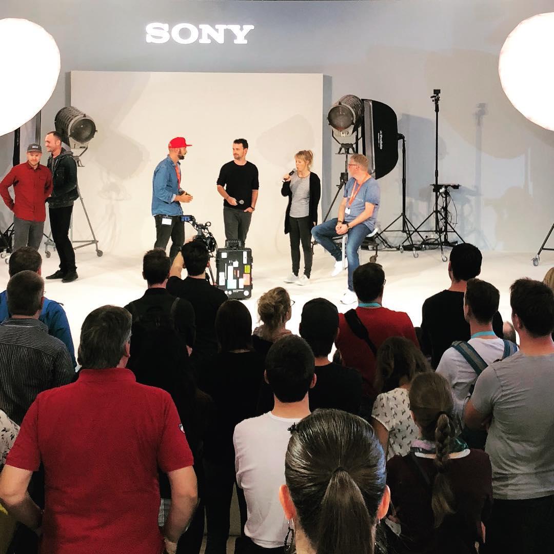 22places auf der Sony Bühne auf der Photokina 2018