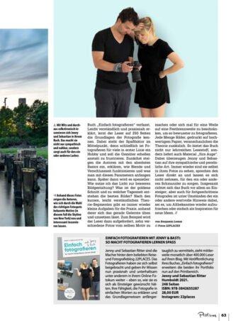 Unser Fotografie Buch im Pictures Magazin