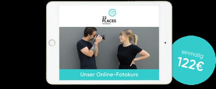Fotografieren lernen mit unserem Online-Fotokurs