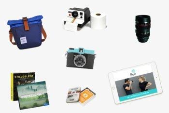 Geschenke für Fotografen: 22 Geschenkideen für Fotografie-Begeisterte