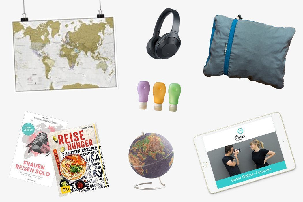 31 Reise-Geschenke: Tolle Geschenkideen für Reisende