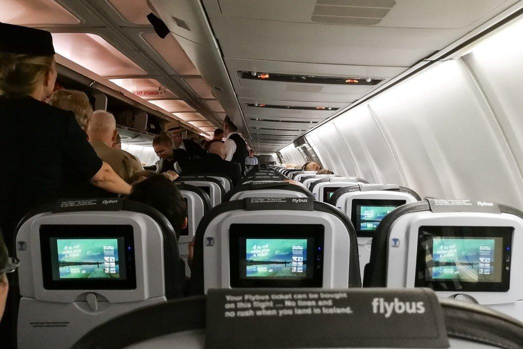 Unser Icelandair Flieger