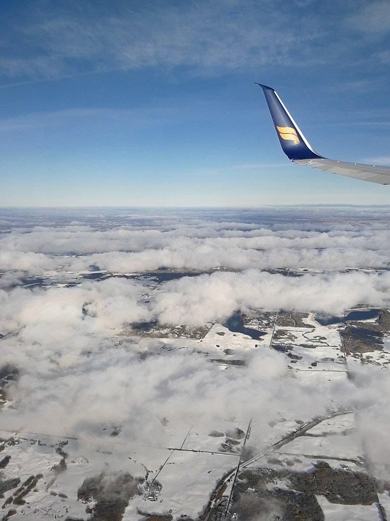 Aussicht auf Island