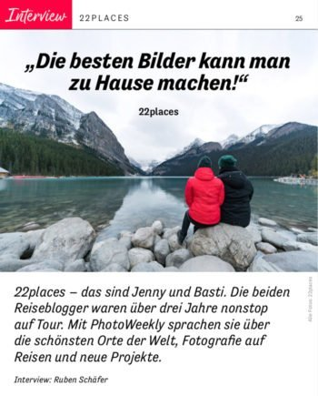 Interview in der Photoweekly