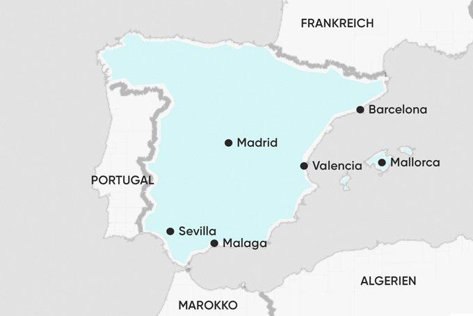 Malaga Karte Spanien.Spanien Reiseberichte Hilfreiche Infos Fur Deinen Urlaub