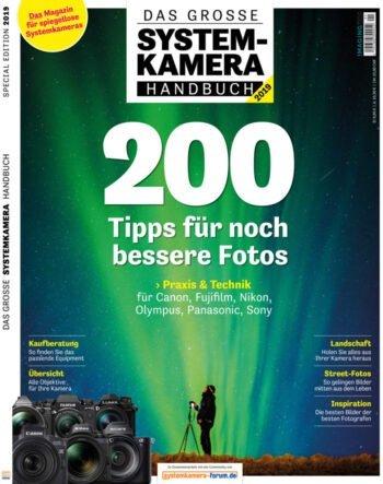 22places in der Zeitschrift Systemkamera Handbuch