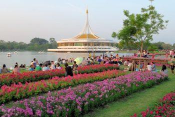 Blumenfestival in Bangkok