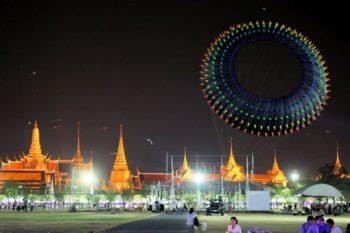 Flugdrachen Festival in Bangkok