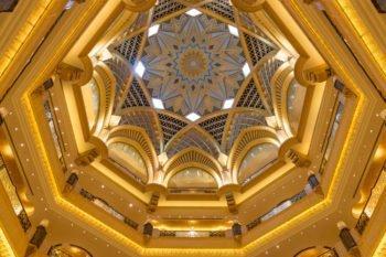 Die Kuppel im Emirates Palace Hotel