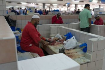 Fischmarkt in Abu Dhabi