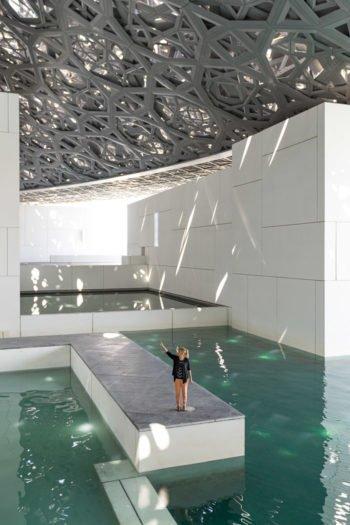 Das Louvre in Abu Dhabi