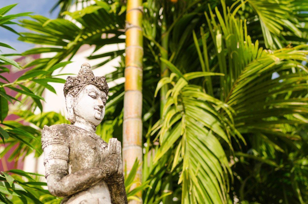 Buddha-Statue in der Altstadt von Chiang Mai
