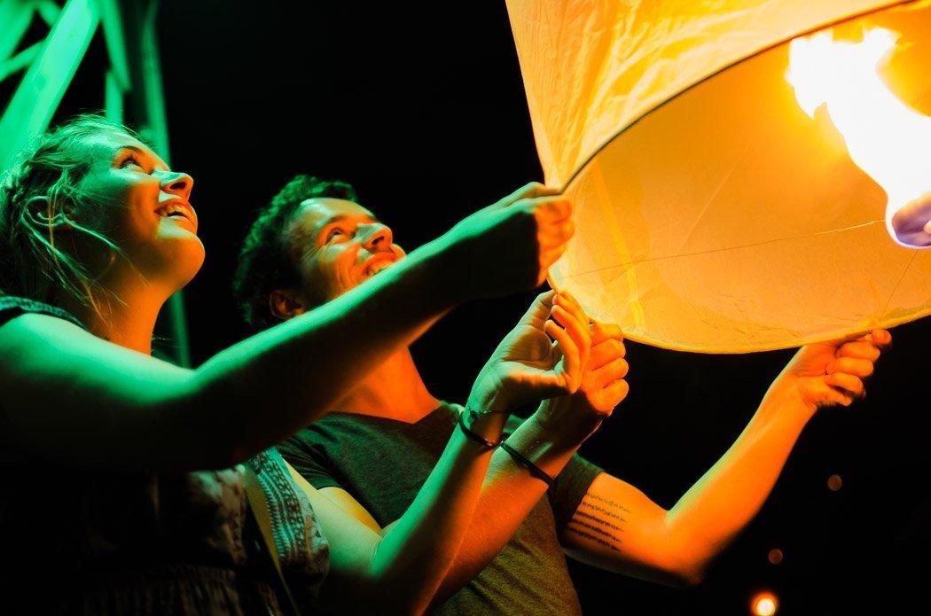 Lichterfest Chiang Mai
