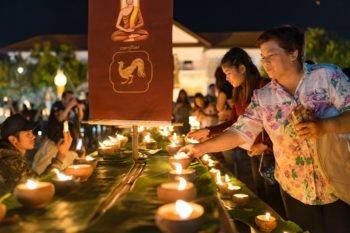Lichterfest in Chiang Mai