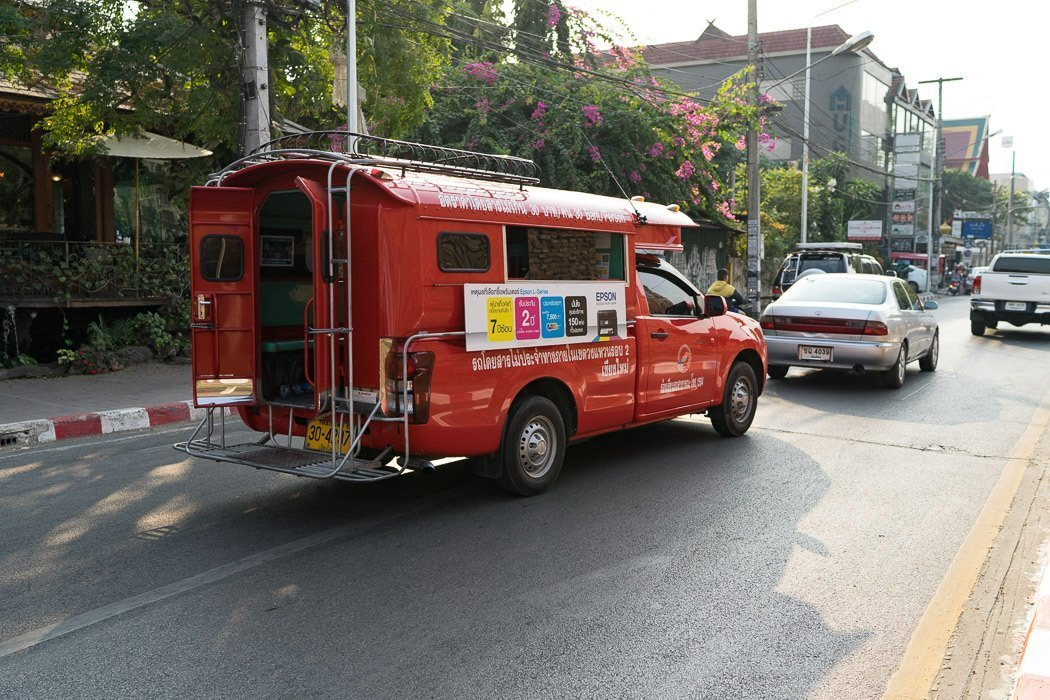 Chiang Mai shared taxi