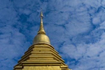 Tempel in der Altstadt Chiang Mais