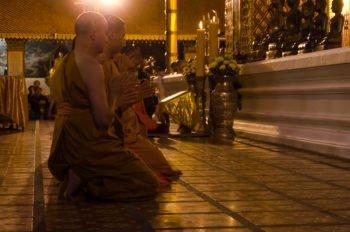 Abendgebete der Mönche