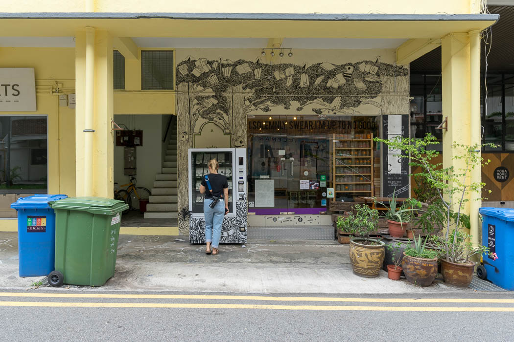 Books Actually - Buchladen in Tiong Bahru