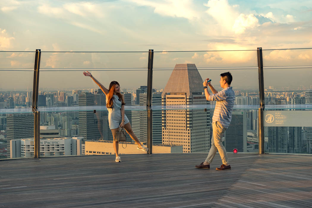 Marina Bay Observation Deck