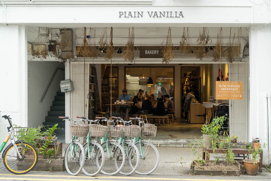 Plain Vanilla Bakery in Tiong Bahru