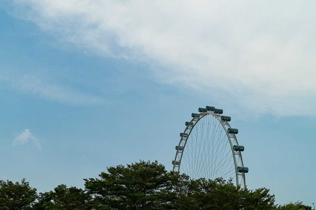 Singapore Flyer - das Riesenrad in Singapur
