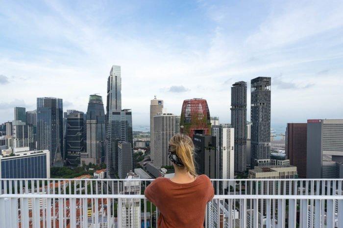 9 coole Aussichtspunkte und Rooftop-Bars in Singapur