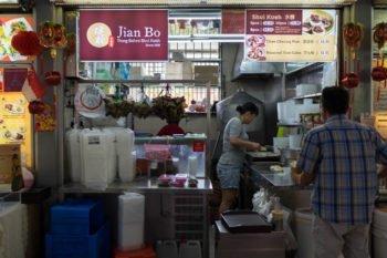 Stand im Tiong Bahru Market