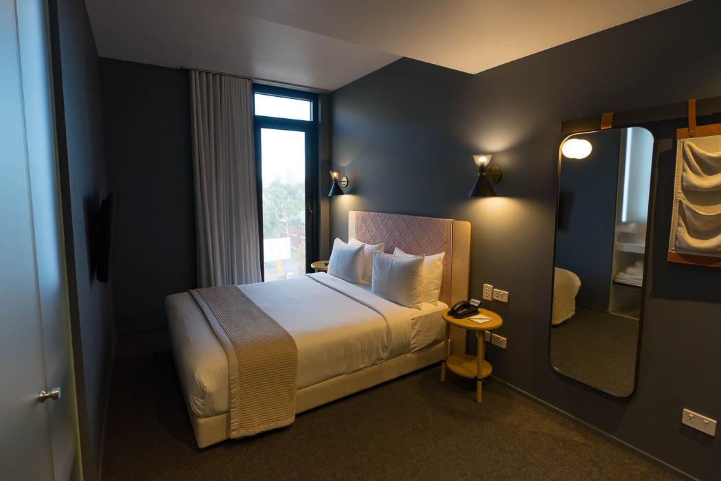 Unser Zimmer im Alex Hotel in Perth