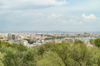 Aussicht auf Palma vom Castell de Bellver