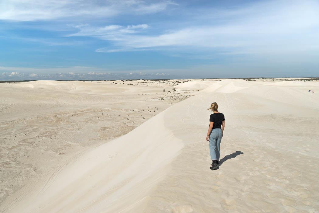 Die Sanddünen in Lancelin
