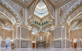 Die Great Hall des Qasr Al Watan