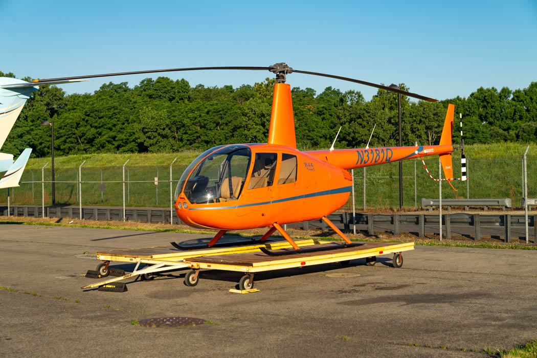 Unser Helikopter für unseren New York Rundflug