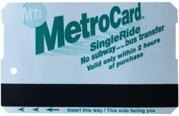 Single Ride MetroCard